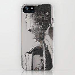 hallstatt under the snow (1) iPhone Case