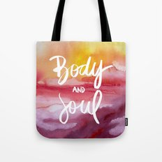 Body & Soul [Collaboration with Jacqueline Maldonado] Tote Bag