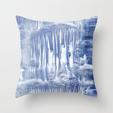 Ice Scape 1 Throw Pillow