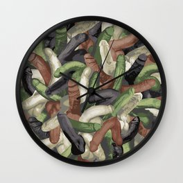 Camouphallic Wall Clock