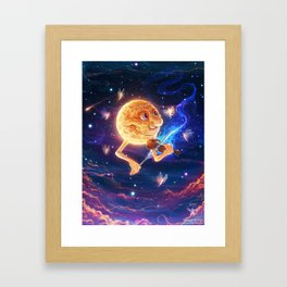 Dancing by the Moon Framed Art Print