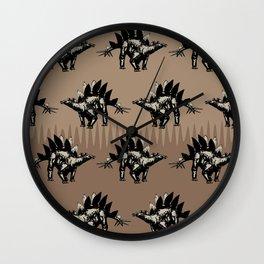 ChocoPaleo: Stegosaurus Wall Clock