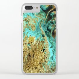 Sapphire Diver Clear iPhone Case