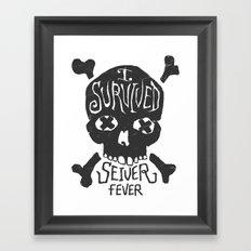 Seiver Fever Framed Art Print