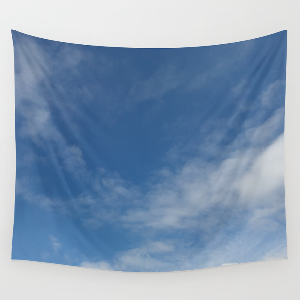 Melbourne Sky 03/06/2017 12:17:03pm 38/145 Wall Tapestry by Colorfulair TPS7110967