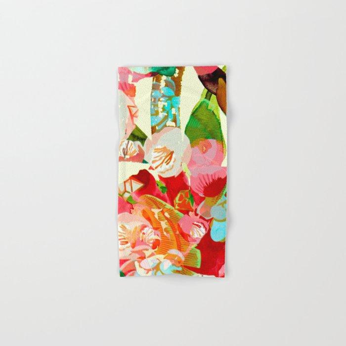 clown floral Hand & Bath Towel