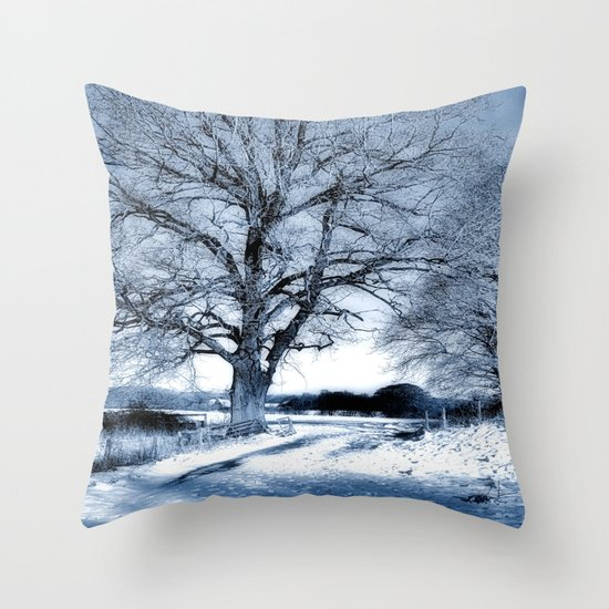 Tell Me All your Thoughts  Throw Pillow