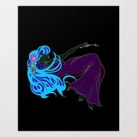 mucha Art Prints featuring Mucha Gracias by Asia Sanchez