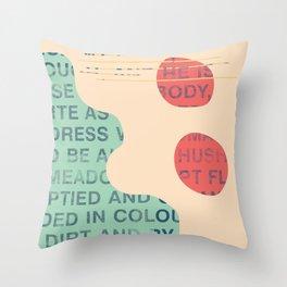 lie cold Throw Pillow