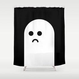 Sad Ghost Shower Curtain