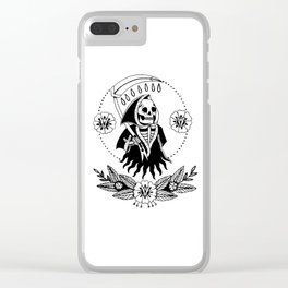 Garden Reaper Clear iPhone Case
