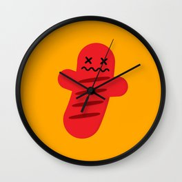 Char Grilly Wall Clock
