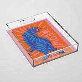 Meow Acrylic Tray