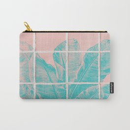 Blue Banana Plant Carry-All Pouch