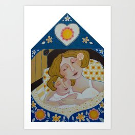 """Nighty Night, My Sweet Girl"" Art Print"
