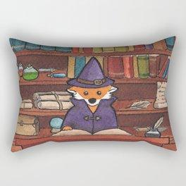 James the Wizard Fox Rectangular Pillow