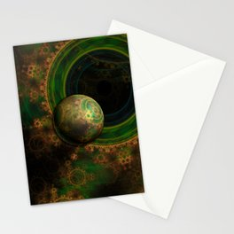 TikTok's Four-Dimensional Steampunk Time Contraption Stationery Cards