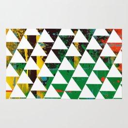 Color Chrome -geometric graphic Rug