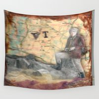 vermont Wall Tapestries featuring Vermont by Marnie