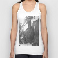 buddah Tank Tops featuring OM Hand by Nicolette Hand