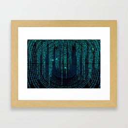 Matrix (3) Framed Art Print