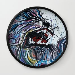 Alpha 6 Wall Clock