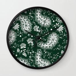 celtic paisley Wall Clock