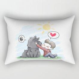 SmushyFace Rectangular Pillow