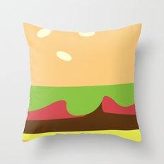 Abstract Artwork (Food) Throw Pillow