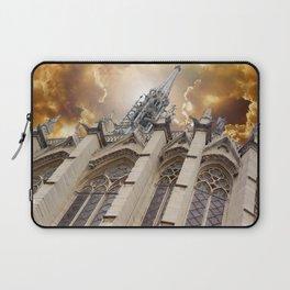 Angry Sainte-Chapelle Laptop Sleeve