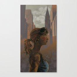 Crow Warrior Canvas Print