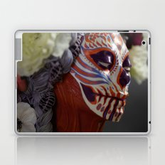Tiger Blossom Muertita Detail Laptop & iPad Skin