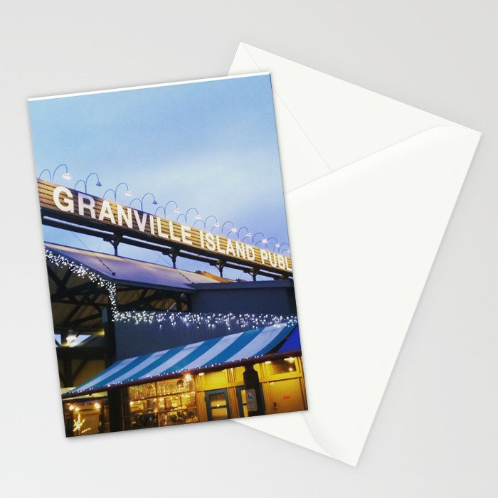 Granville Island Stationery Cards