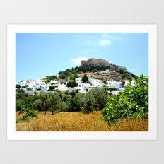 Rhodes, Greece Art Print