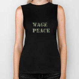 WAGE PEACE Biker Tank