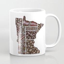 Minnesota Shapes Mug Coffee Mug