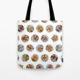 Tiger Sticker Pack 1 Tote Bag