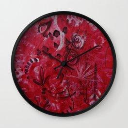 Pink Spirt Wall Clock
