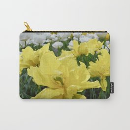 Floral Flutter Carry-All Pouch