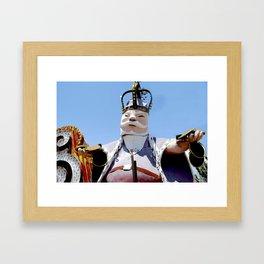 King of the Casino Framed Art Print
