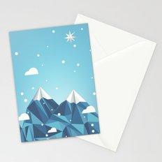 Cool Mountains Stationery Cards