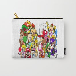 Super Mario Bros characters Carry-All Pouch