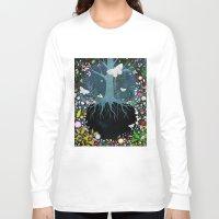 velvet underground Long Sleeve T-shirts featuring Underground by Danse de Lune