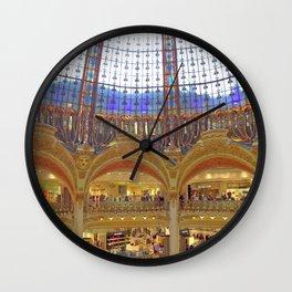 Galleries Lafayette Wall Clock