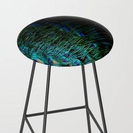 Peacock Details Bar Stool