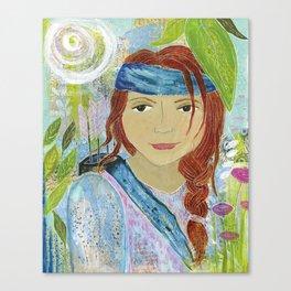Warrior Rebecca Canvas Print