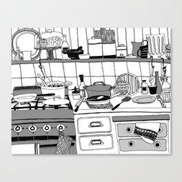 Savory Kitchen Canvas Print
