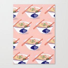 Sarawak Laksa pattern ii Canvas Print
