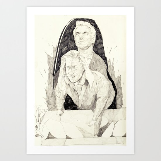Killer twin peaks Art Print
