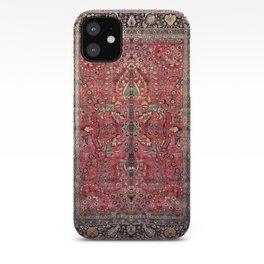 Antique Persian Red Rug iPhone Case